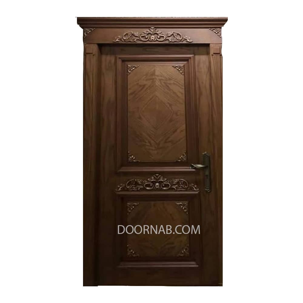 درب داخلی تمام چوب